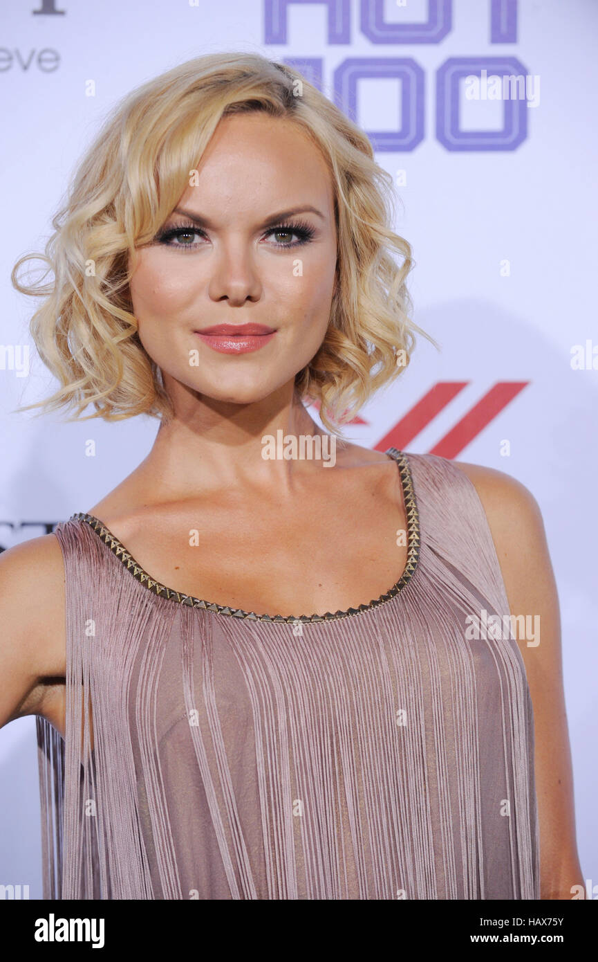 Anya Monzikova attends the Maxim 2013 Hot 100 Annual Party held at Vanguard on May 15, 2013 in Hollywood, California. - Stock Image