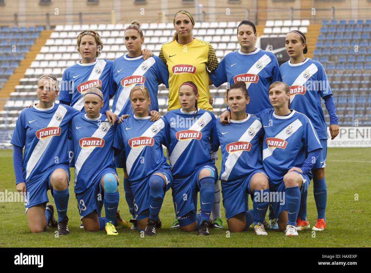 MTK vs. Potsdam football match - Stock Image