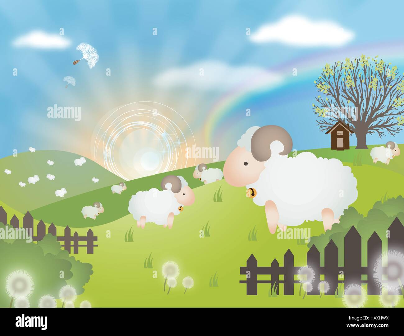 Illustration and Painting Paintings - Stock Vector