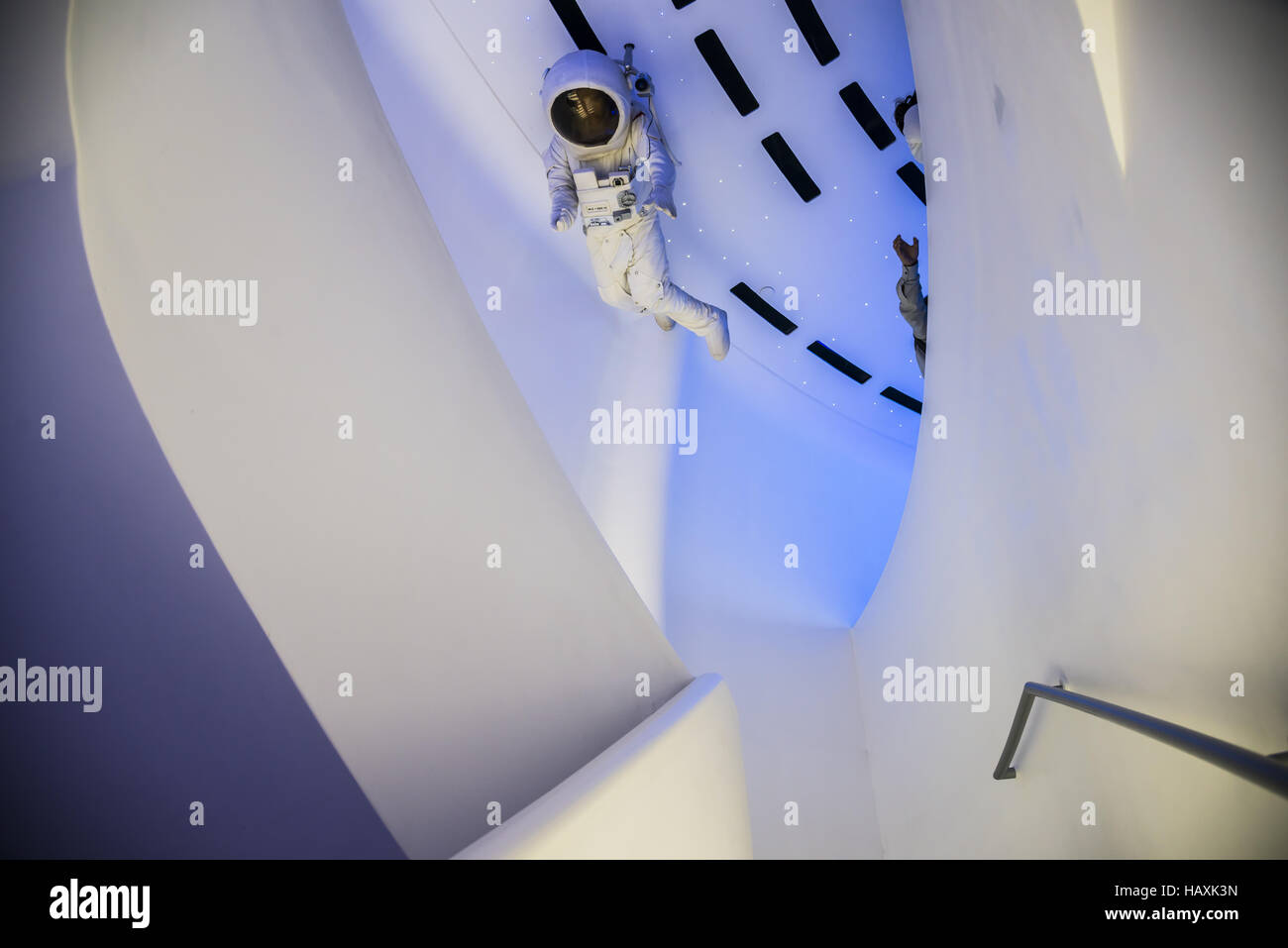 Spacecenter Oriental Pearl Tower Stock Photo