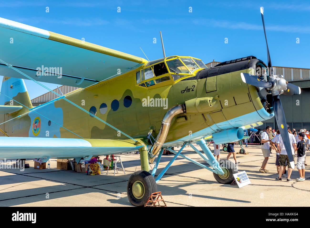 Aircraft Antonov An-2 - Stock Image