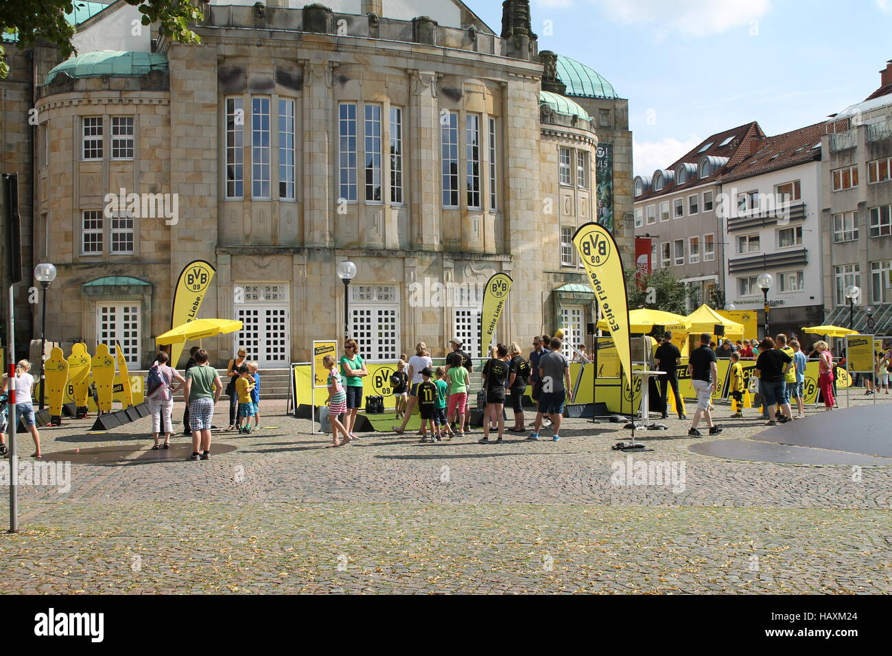 The BVB summer-tour Stock Photo