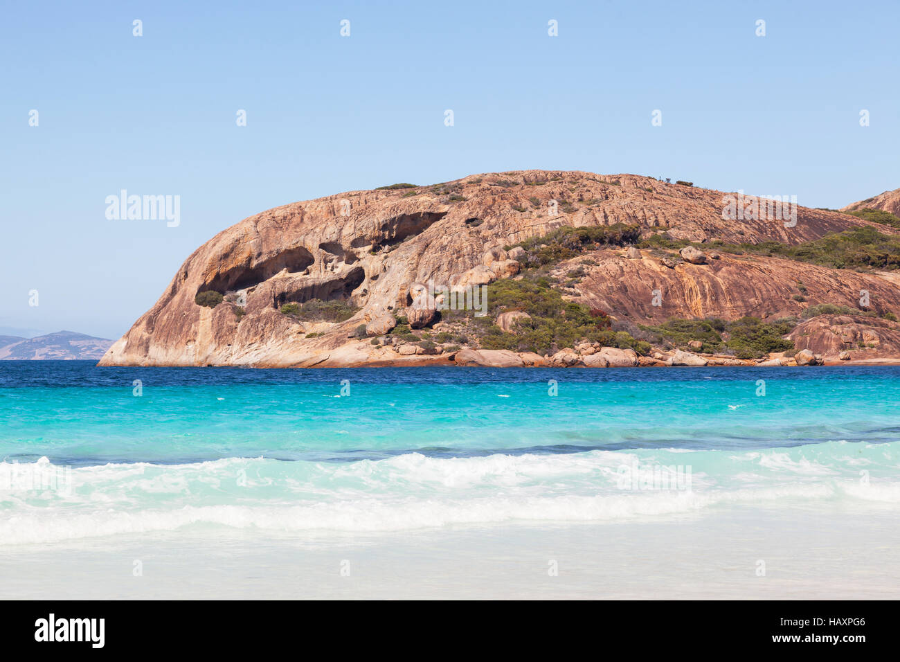 Lucky Bay in Cape Le Grand National Park, near the town of Esperance, Western Australia. Stock Photo