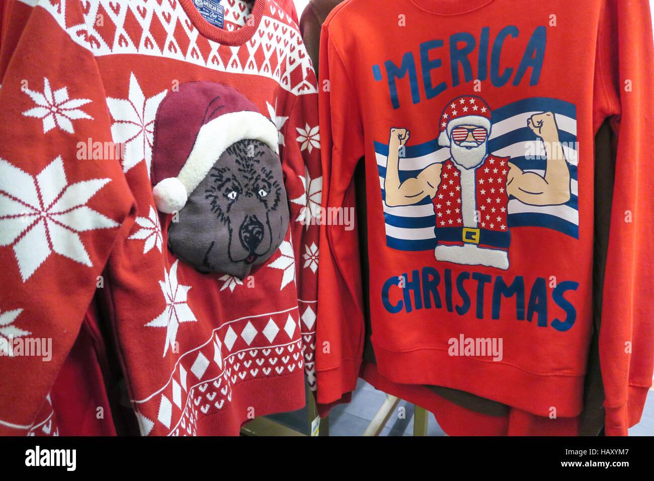 Macys Christmas Sweaters.Ugly Christmas Sweaters Stock Photos Ugly Christmas