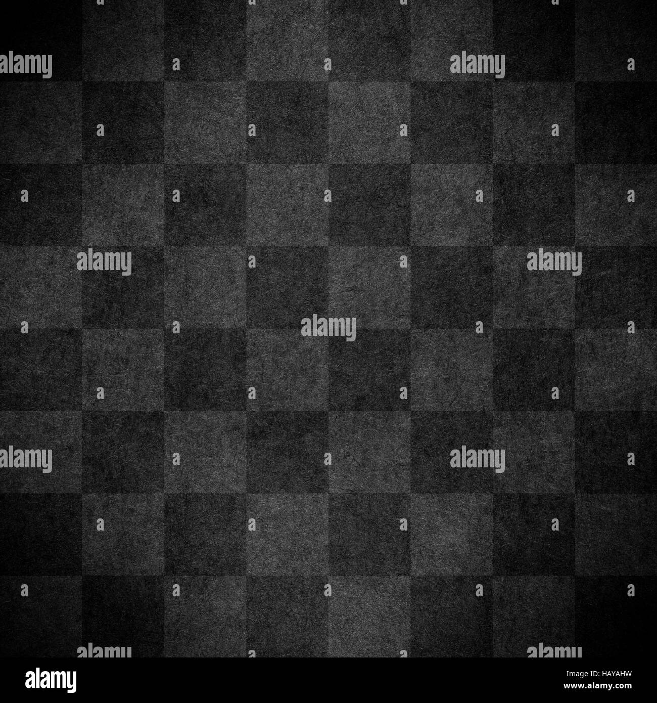 chequered pattern texture or light and dark brown chessboard background, check - Stock Image