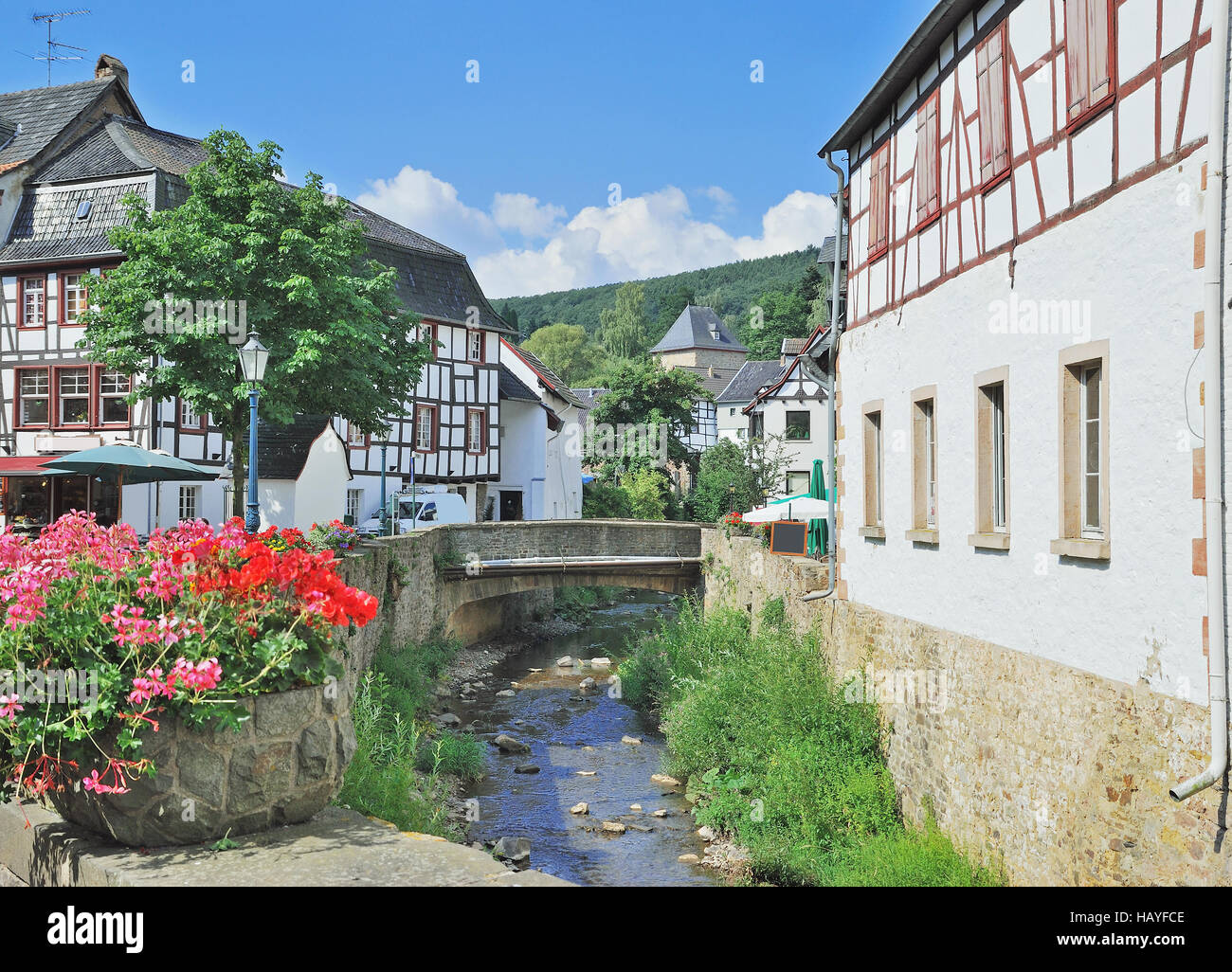 Bad Muenstereifel,Eifel Region,Germany   Stock Image