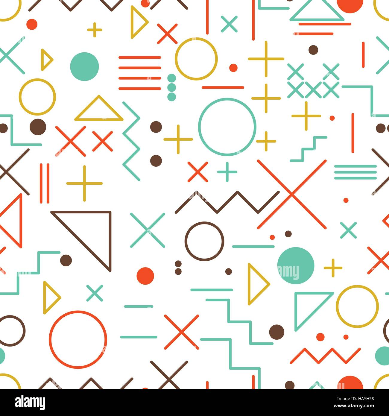 Seamless Math Symbols Vector Background Stock Photos Seamless Math