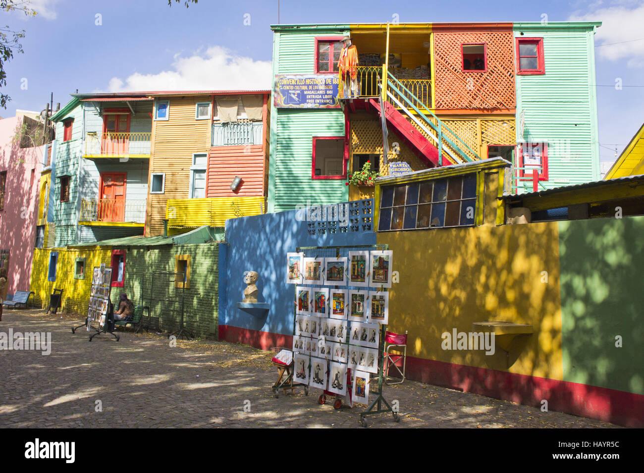 Argentina, Buenos Aires, La Boca - Stock Image