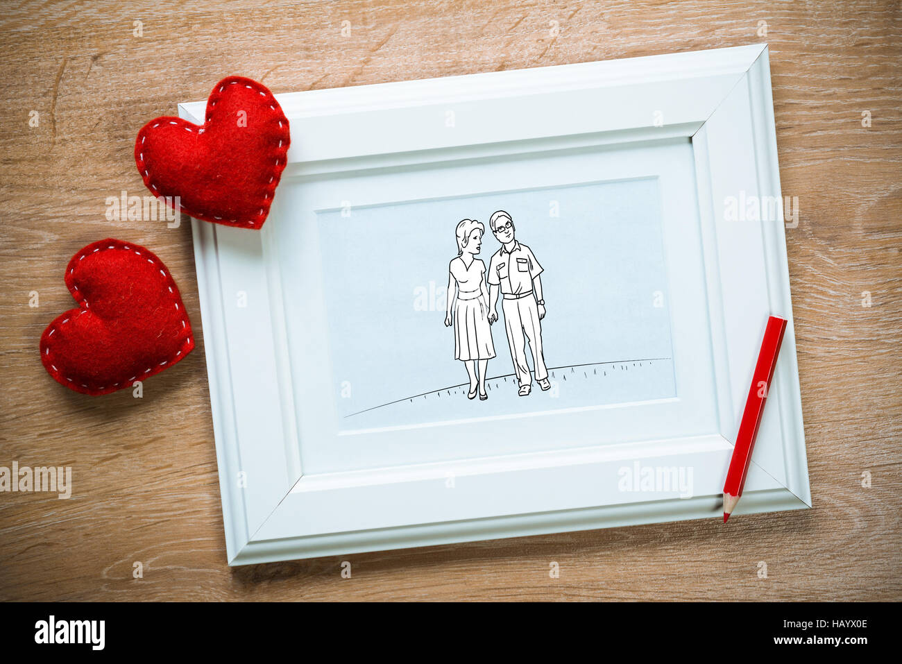 The sweetest moments - Stock Image