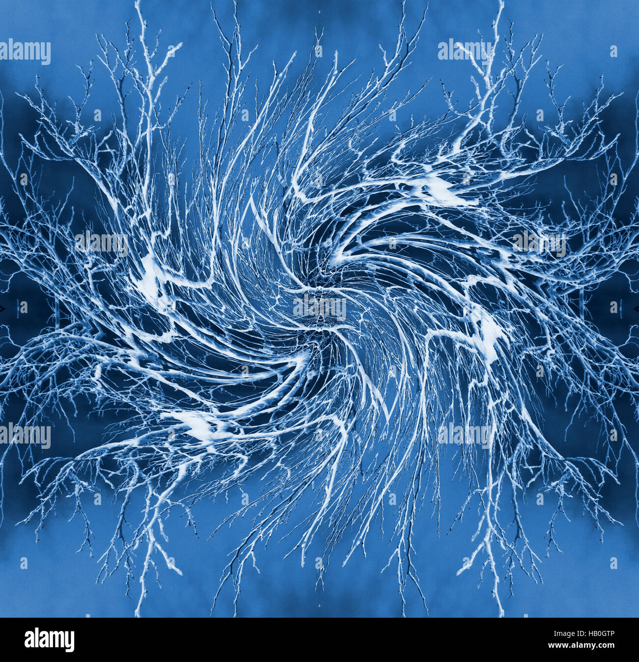Neural Network - Abstract Illustration - Stock Image