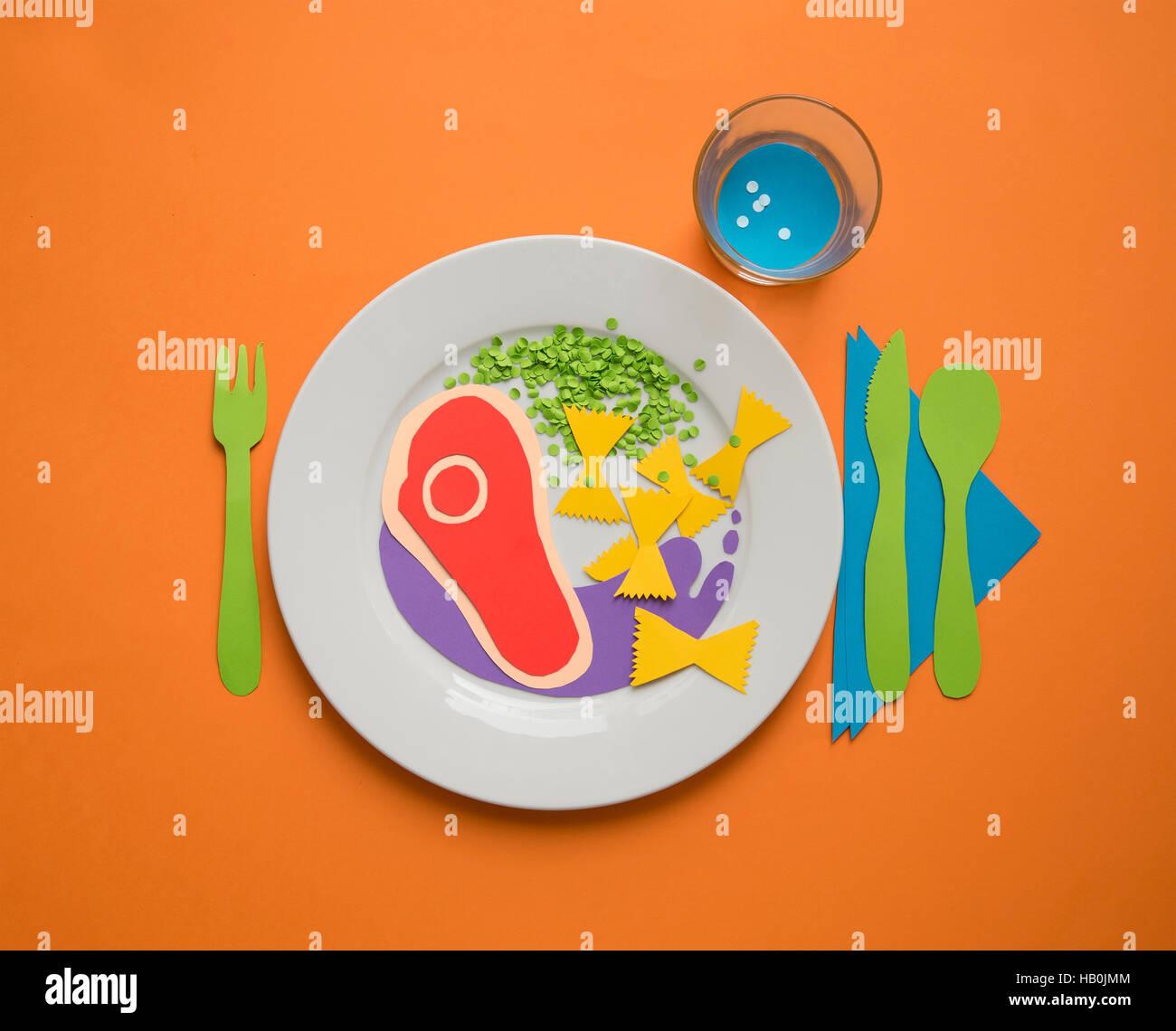 Kreative Küche Stock Photo