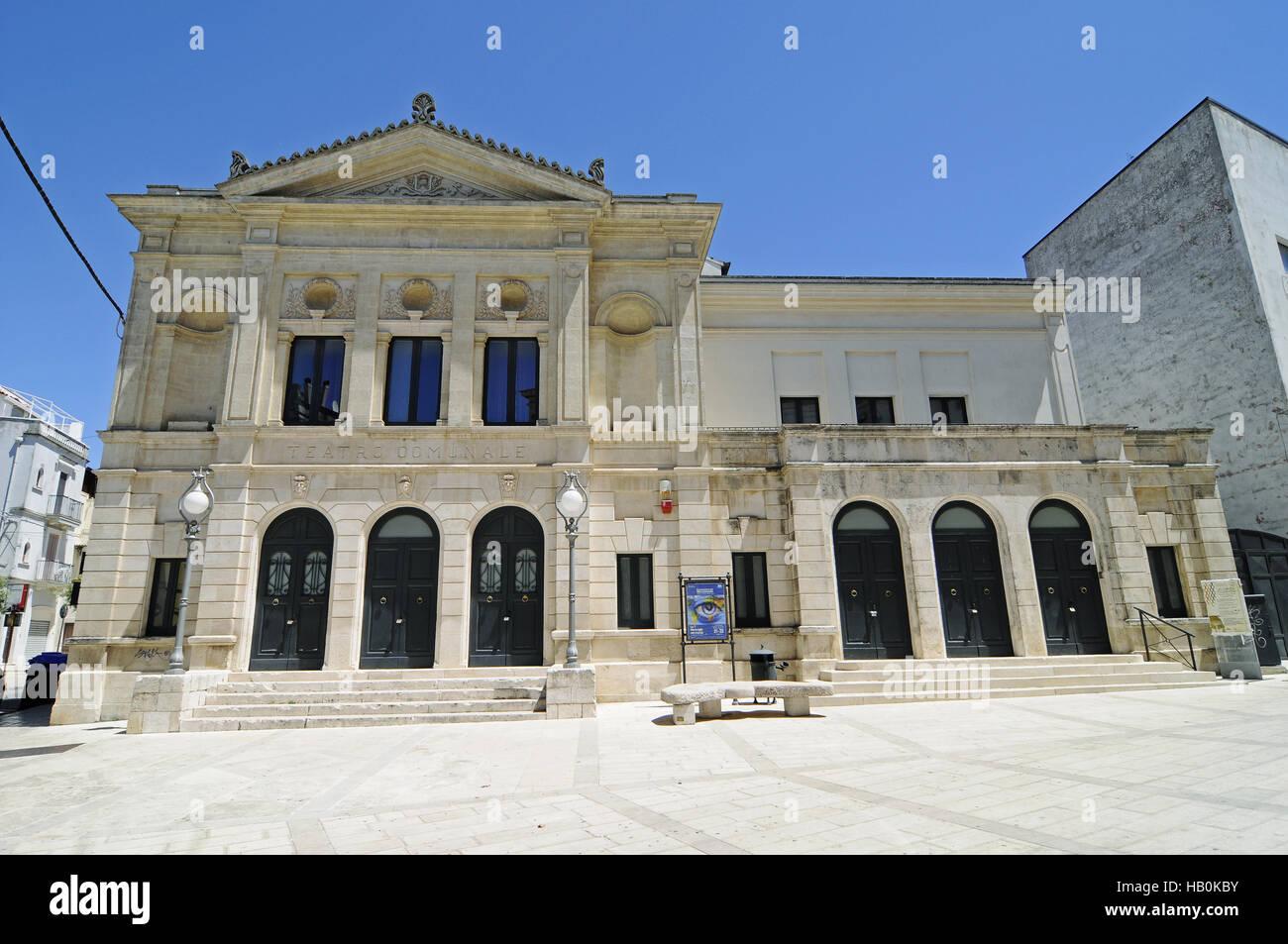 theatre, Gioia del Colle, Apulia, Italy Stock Photo