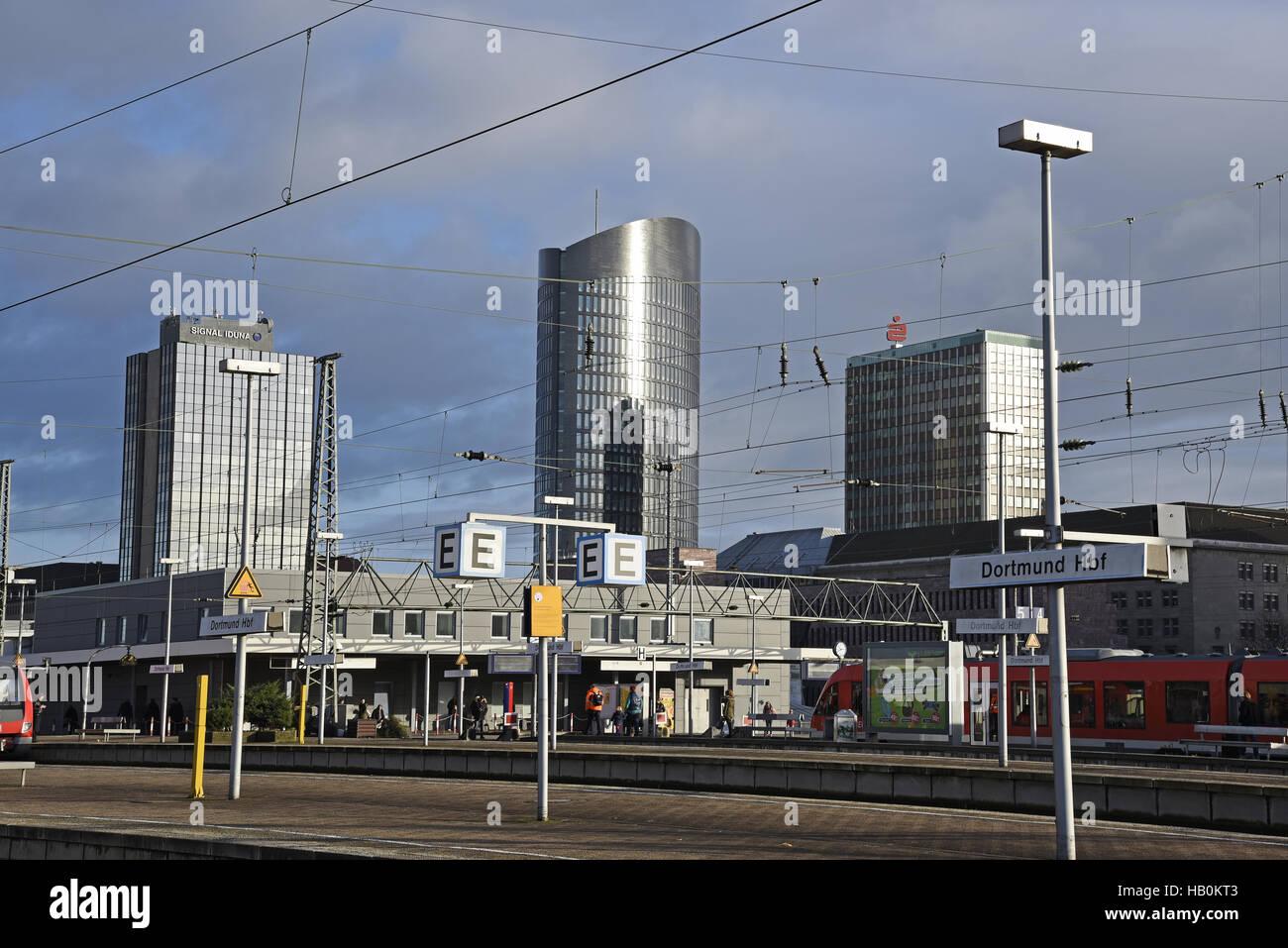 Main station, Dortmund, Germany Stock Photo