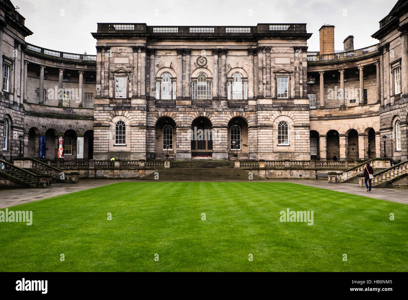 Edinburgh Old College and Talbot Rice Gallery, Edinburgh, Scotland, designed by William Henry Playfair - Stock Image