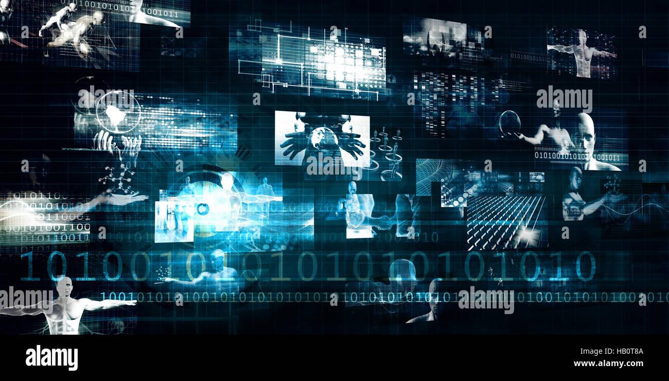 Digital Marketing Platform and Effective Technology Promotion - Stock Image