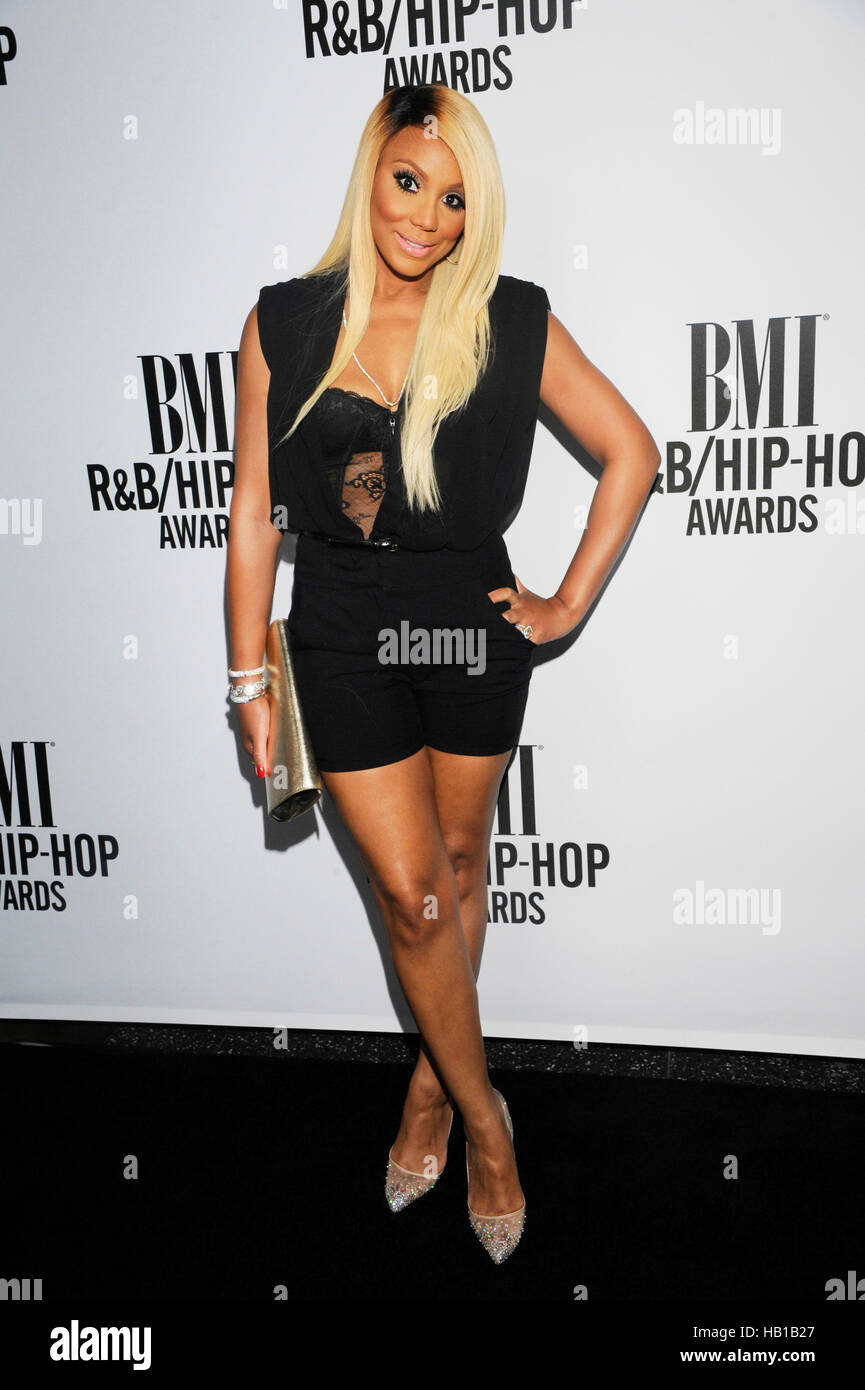 Tamar Braxton attends the 2014 BMI R&B/Hip-Hop Awards at the Pantages Theatre on August 22, 2014 in Hollywood, California. Stock Photo