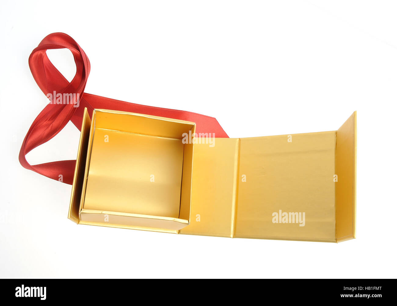 Fancy Box Open Isolated Stock Photos Fancy Box Open