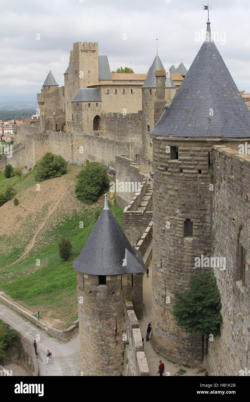 Carcassonne - Stock Image