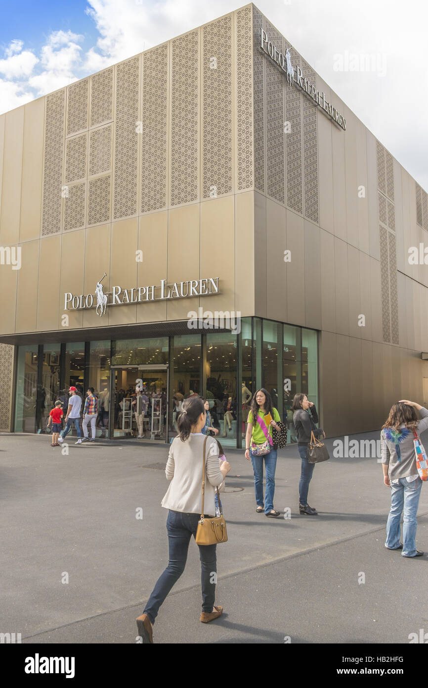 polo, ralph lauren outlet store Stock Photo: 127291460 Alamy