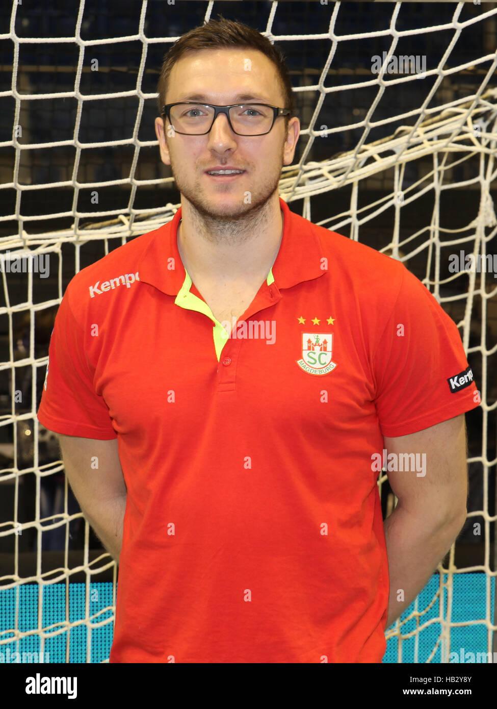 Andreas Rojewski (SC Magdeburg) - Stock Image