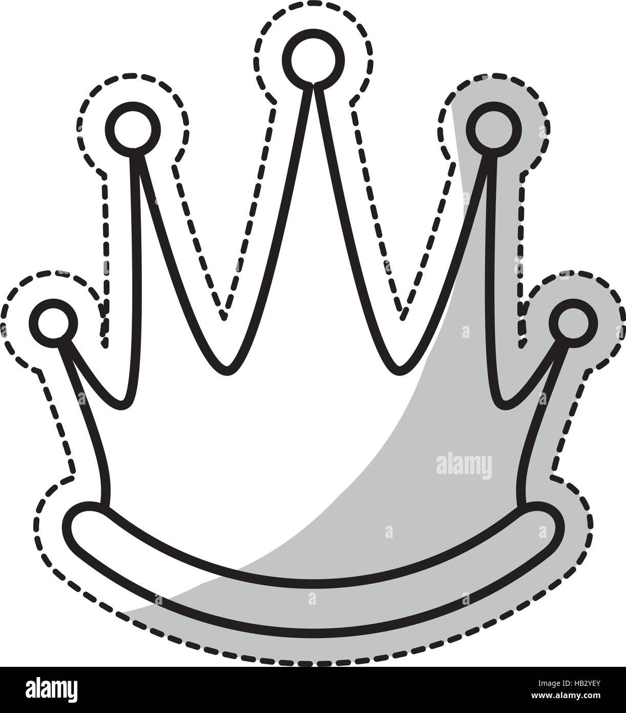 Queen Sign Emperor King Icon Stock Photos & Queen Sign Emperor King ...