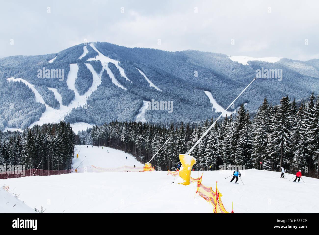 ski resort bukovel, ukraine stock photo: 127304710 - alamy