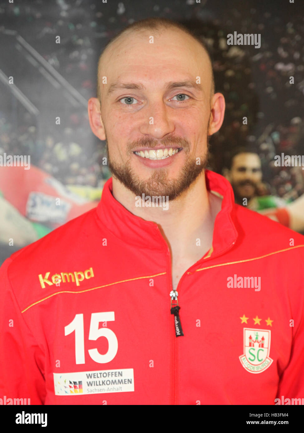Yves Grafenhorst (SC Magdeburg) Stock Photo