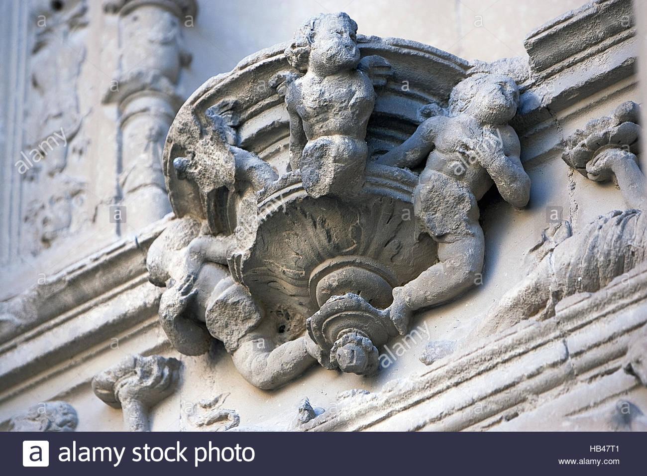 Cantilever, Ubeda, Jaen province, Spain - Stock Image