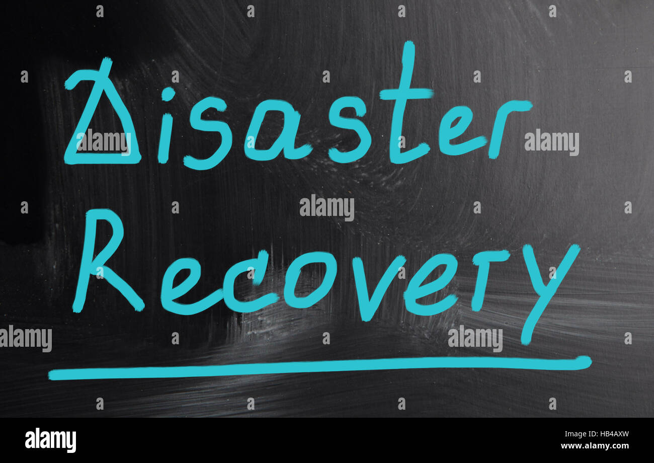 disaster recovery - Stock Image