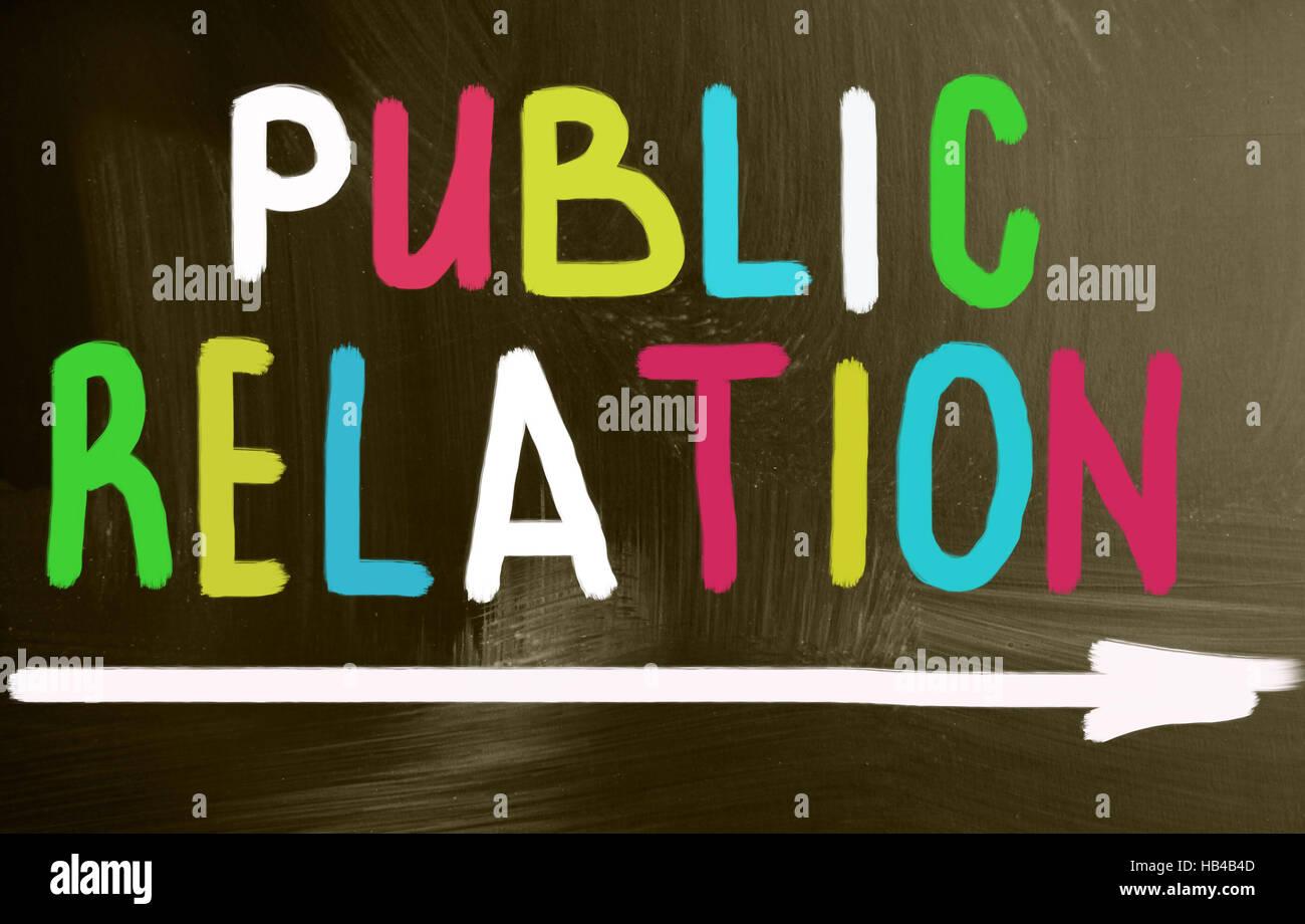 public relation Stock Photo