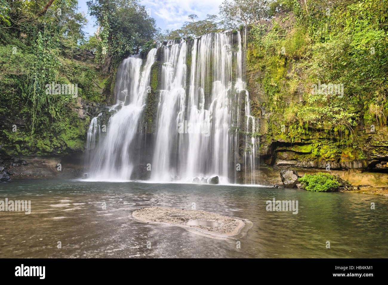 Llano de Cortes Falls - Stock Image
