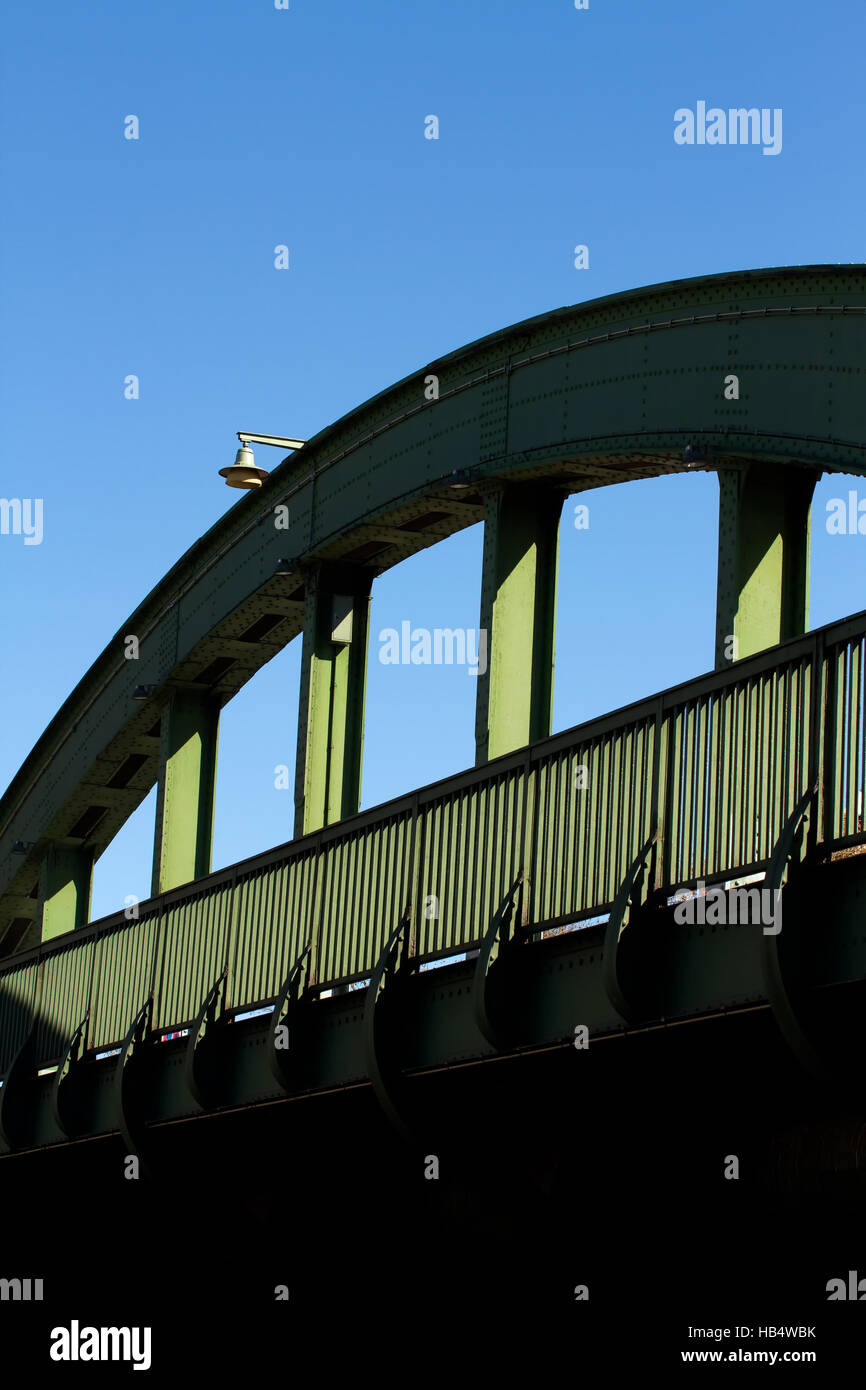 Bridges 008. Germany Stock Photo