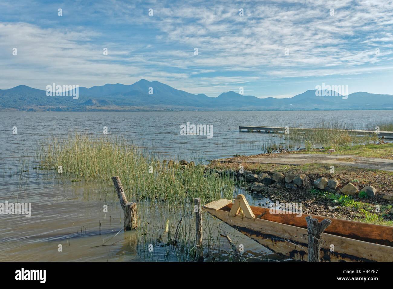 Lake Patzcuaro, Michoacan, Mexico - Stock Image