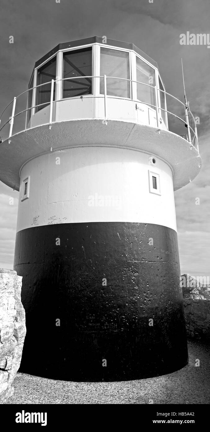 in south africa coastline cape of good hope  and lighthouse Stock Photo