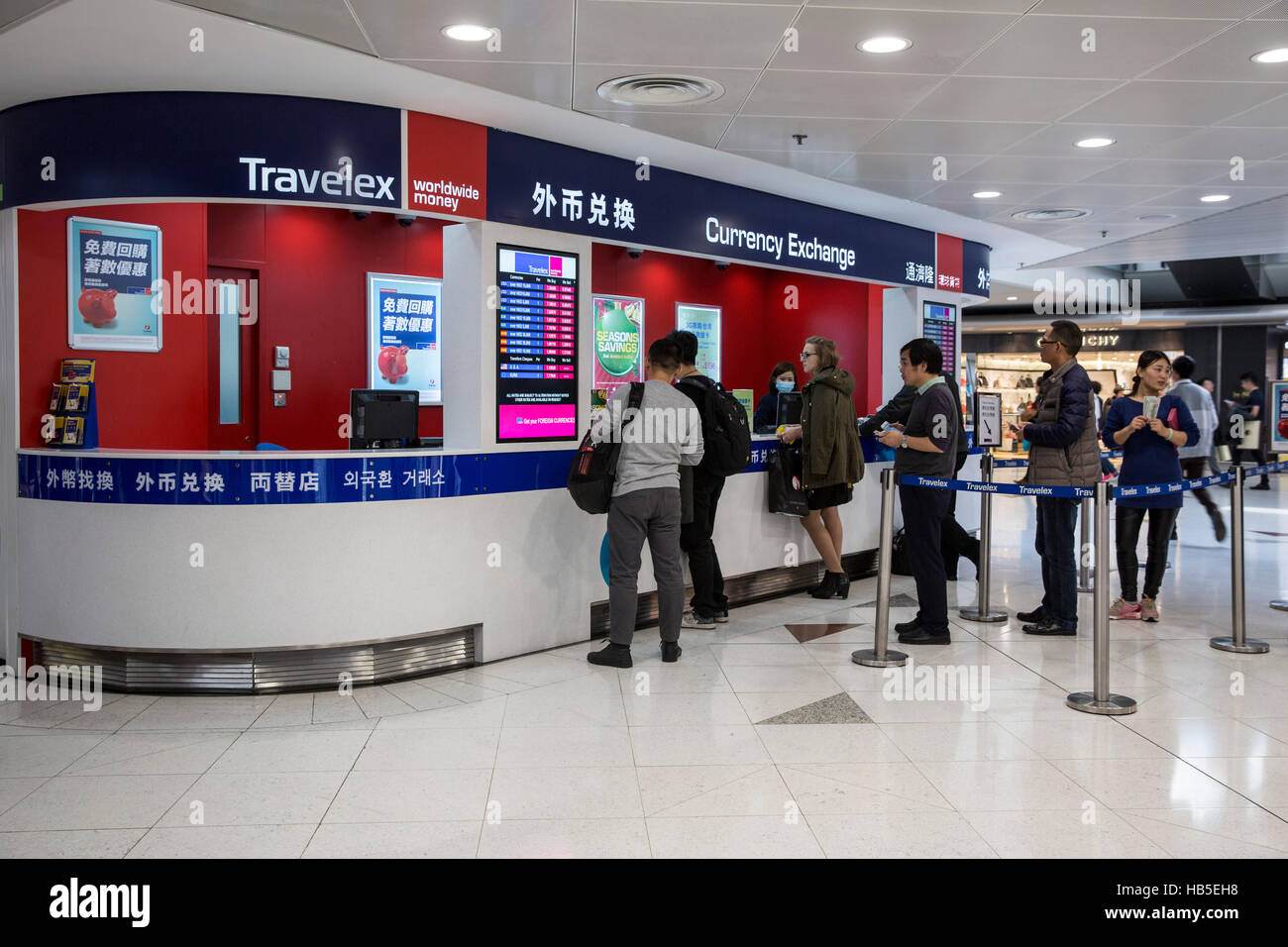 Travelex Currency Exchange Of Hong Kong International