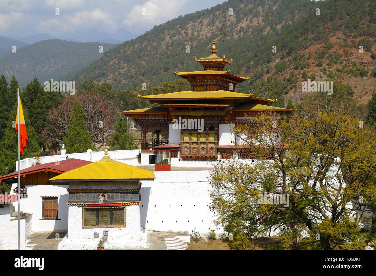 The Punakha Dzong - Stock Image
