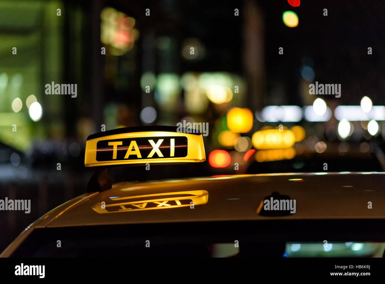 Cab - Stock Image