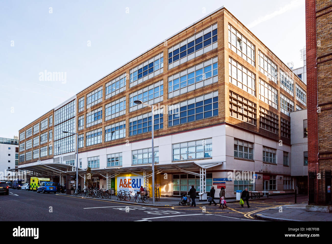Chelsea and Westminster Hospital, Fulham Road, Chelsea, London - Stock Image