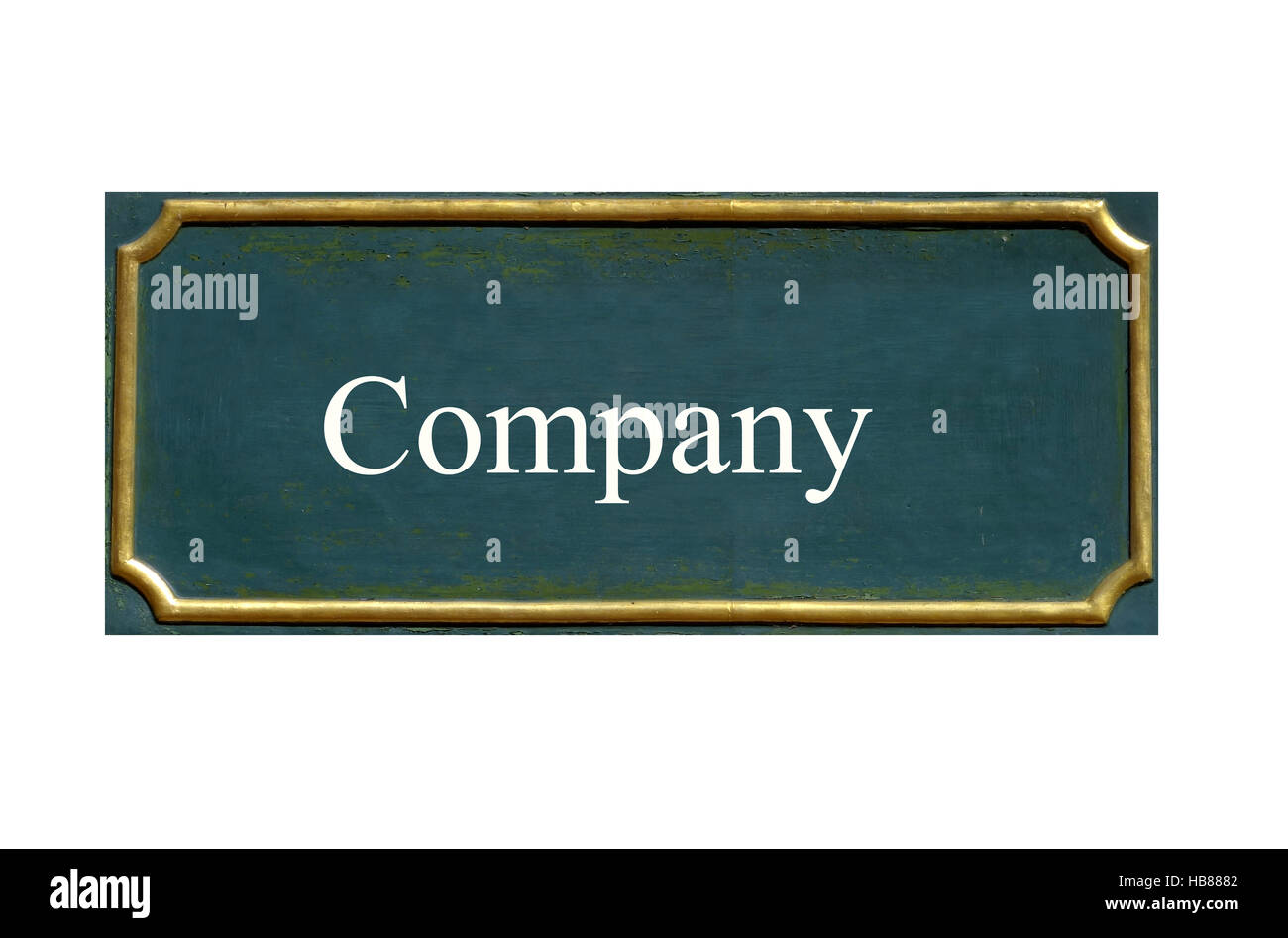 shield company Stock Photo