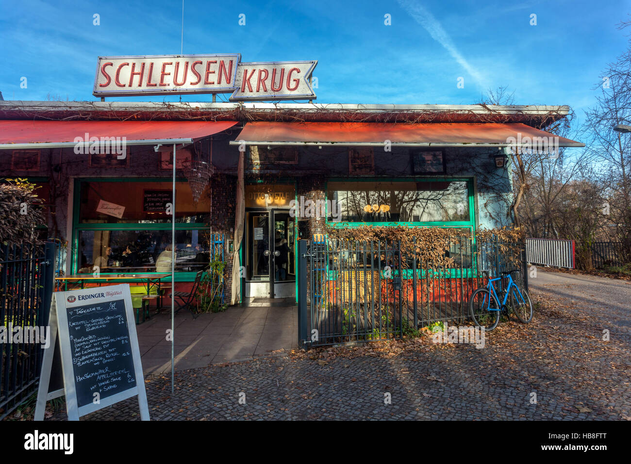 restaurant schleusenkrug situated near the zoo in berlin germany stock photo 127421864 alamy. Black Bedroom Furniture Sets. Home Design Ideas