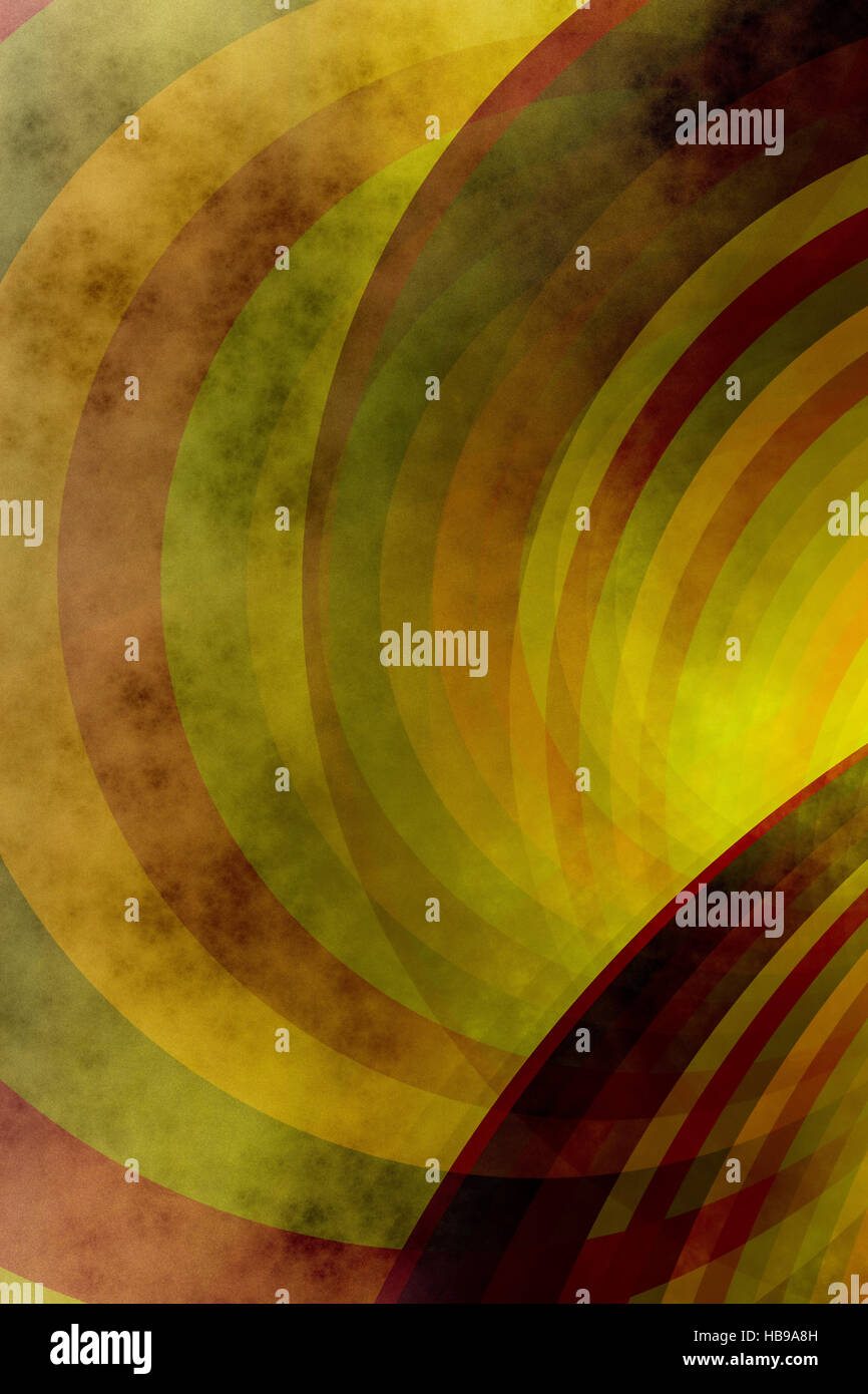 grained colores - Stock Image
