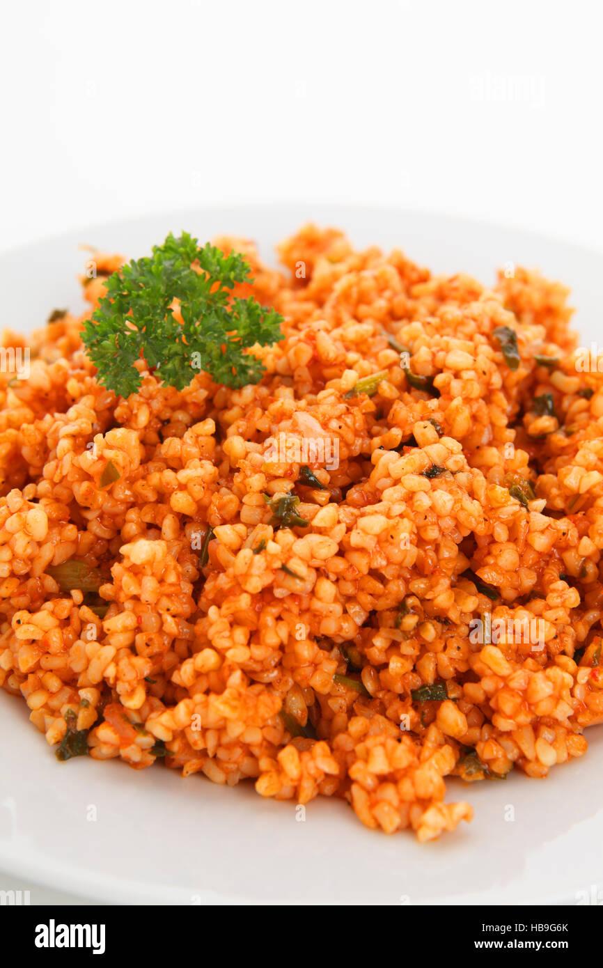 bulgur salad Stock Photo