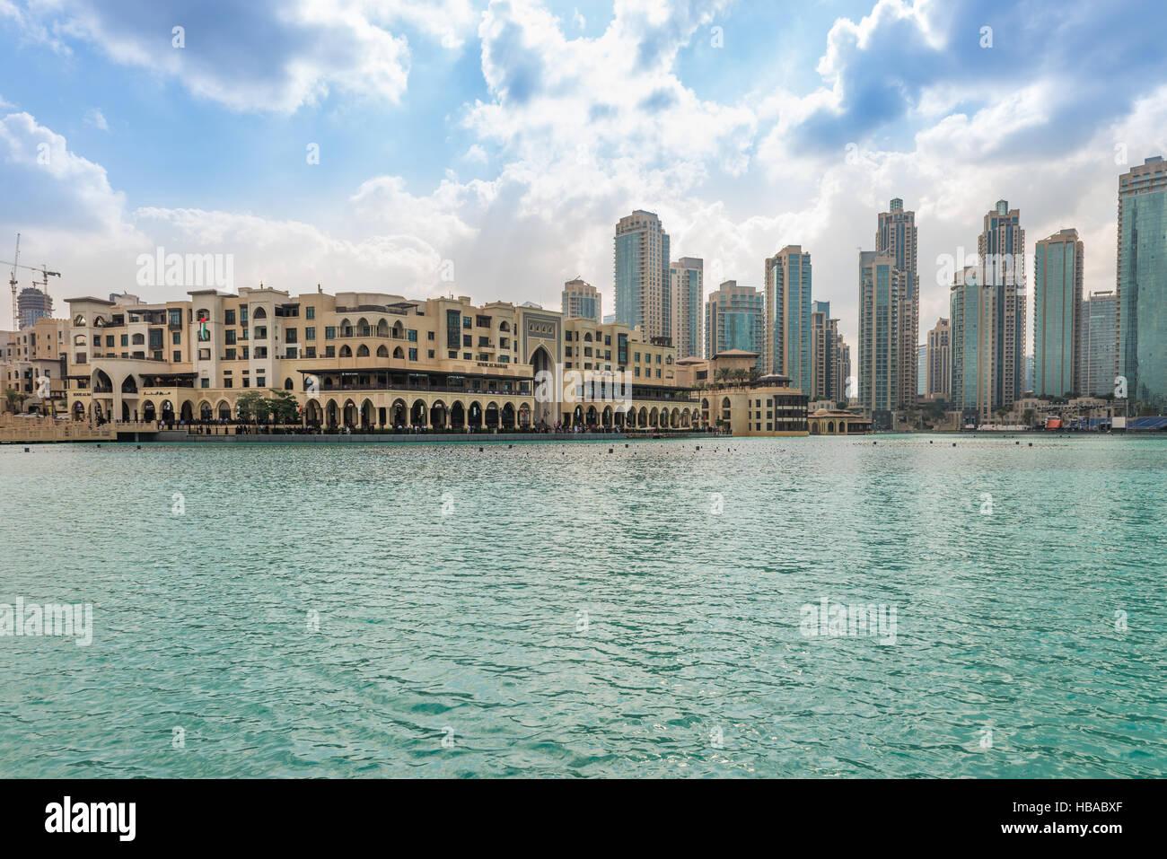 Commercial Centre Souk Al Bahar, Dubai - Stock Image