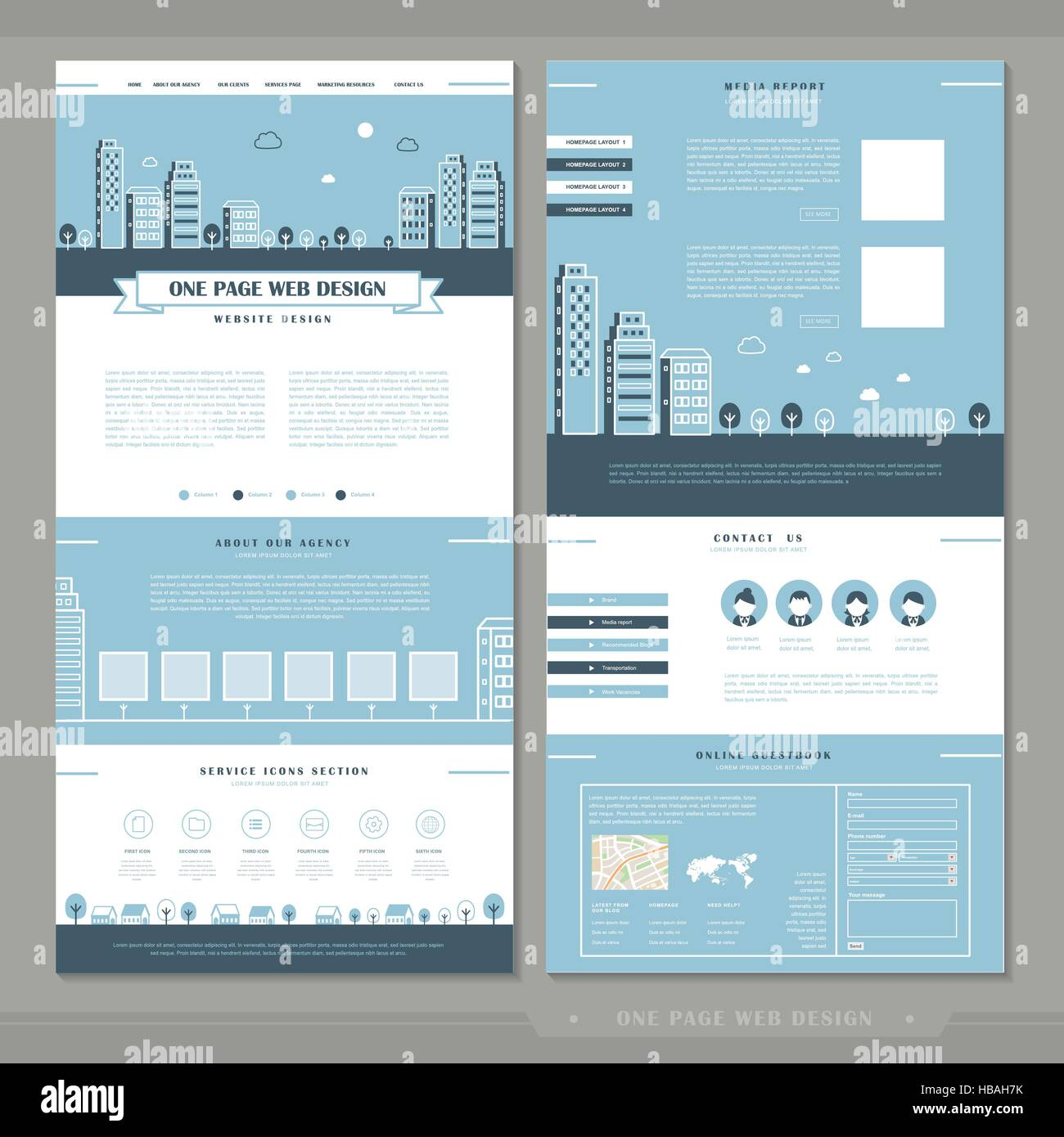 One Page Business Plan Powerpoint Template Slidemodel 15