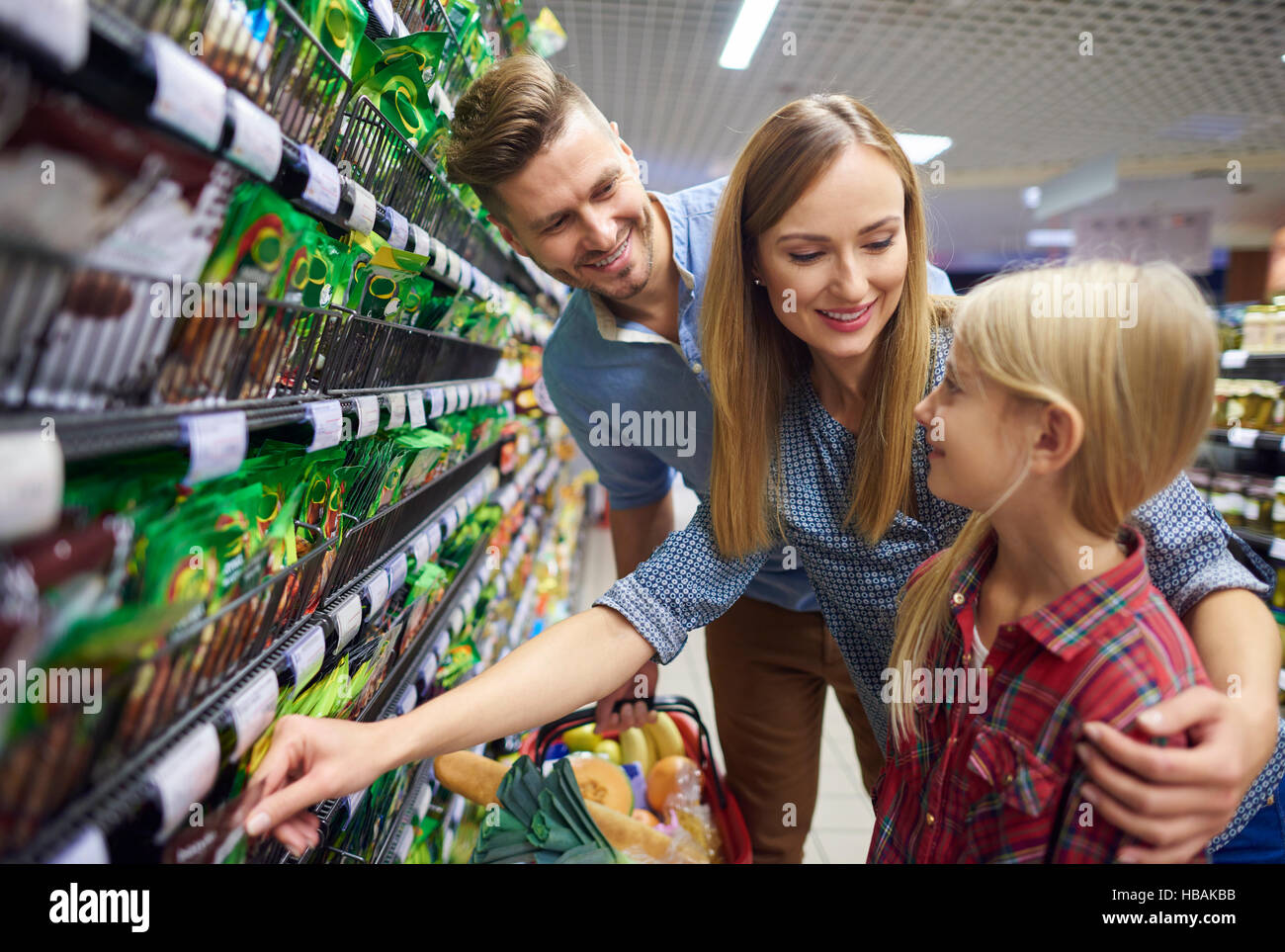 Free time spent while shopping - Stock Image