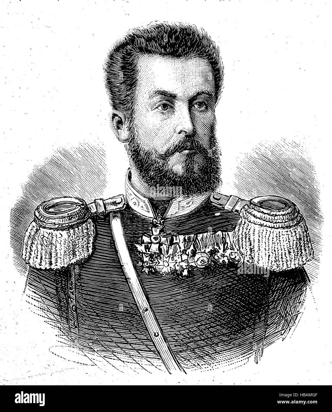 Konstantin Atanasow Panica, 1857 - 1890, known under his nickname Kosta Panica was a Bulgarian freedom fighter and - Stock Image