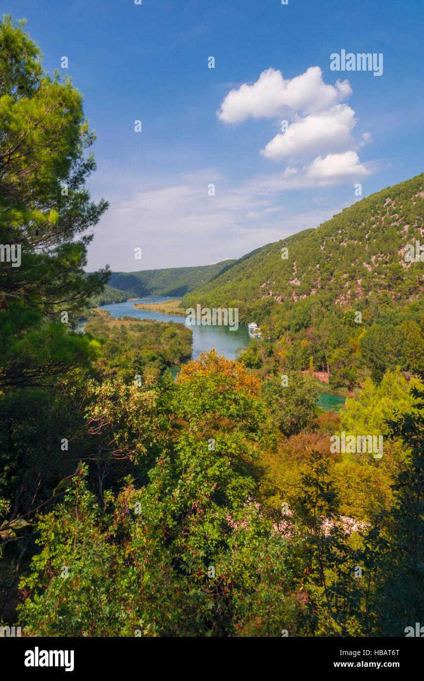 Krka National Park, Croatia - Stock Image