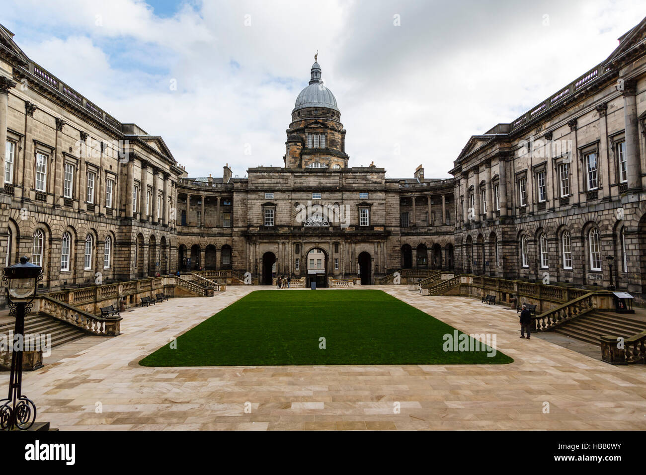 Old College at the University of Edinburgh, Scotland - Stock Image