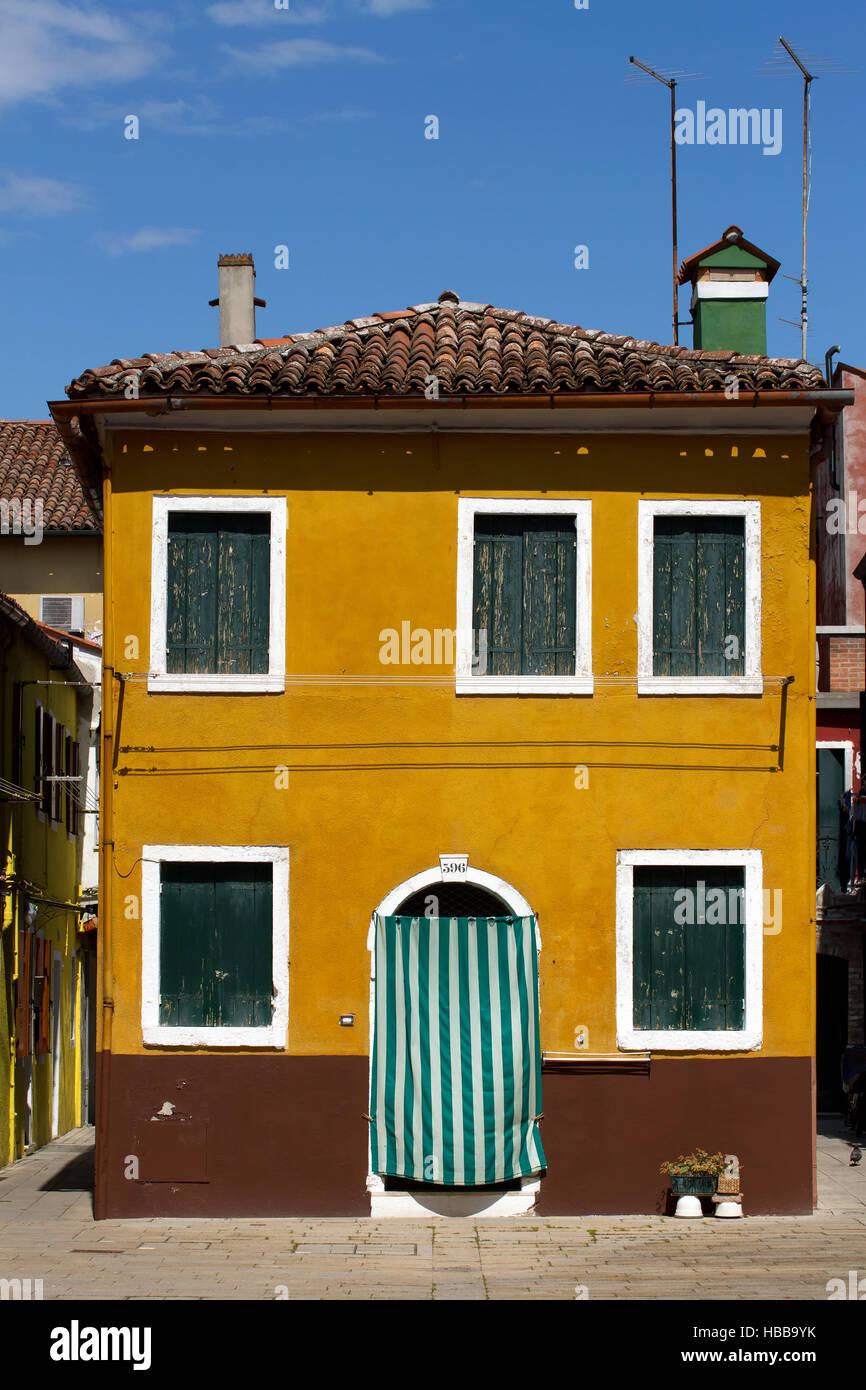 Burano 009. Italy Stock Photo
