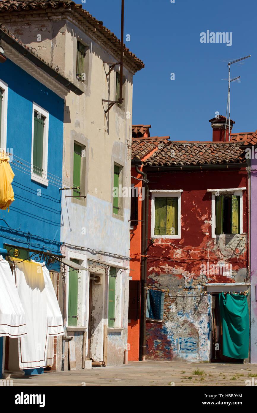 Burano 008. Italy Stock Photo